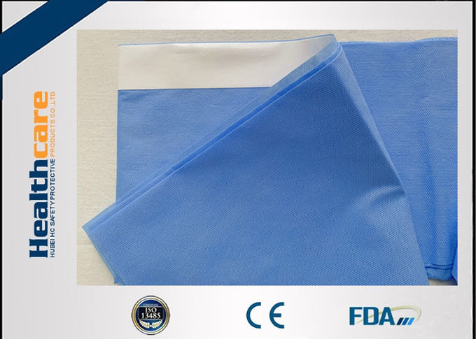Non - Toxic Disposable Surgical Drapes Armboard Cover With Tape 75X35cm